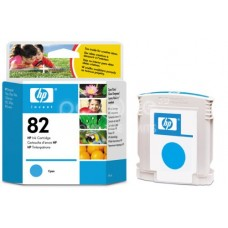 Cartus cerneala HP 82 Cyan Ink Cartridge 69 ml C4911A