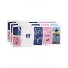 Cartus cerneala HP 81 Dye Light Magenta Ink Cartridges 3-pack 680 ml C5071A