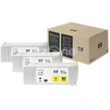 Cartus cerneala HP 83 UV Yellow Ink Cartridges 3-pack, 680 ml - C5075A