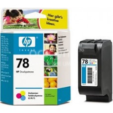 Cartus cerneala HP 78 Tri-colour Inkjet Print Cartridge 19 ml aprox. 450 pag C6578DE