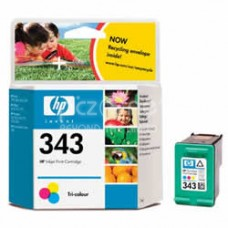 Cartus cerneala HP 343 Tri-colour Inkjet Print Cartridge with Vivera Inks 7 ml aprox. 260 pag C8766EE