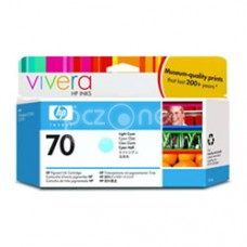 Cartus cerneala HP 70 130 ml Light Cyan Ink Cartridge with Vivera Ink - C9390A