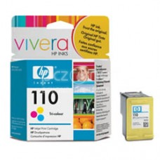 Cartus cerneala HP 110 Tri-colour Inkjet Print Cartridge with Vivera Inks - CB304AE