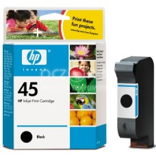 Cartus cerneala HP HP 45 Large Black Inkjet Print Cartridge 42 ml aprox. 840 pag 51645AE