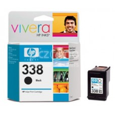 Cartus cerneala HP 338 Black Inkjet Print Cartridge with Vivera Ink aprox. 450 pag C8765EE