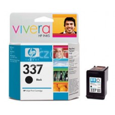 Cartus cerneala HP 337 Black Inkjet Print Cartridge with Vivera Ink aprox. 400 pag C9364EE