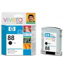 Cartus cerneala HP 88 Large Black Ink Cartridge with Vivera Ink - C9396AE