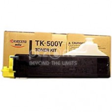 Cartus Toner Kyocera yellow for FS C5016 -  TK-500Y