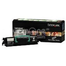 Cartus toner Lexmark E34x black 2.5K - inlocuieste 12A8300 - 24036SE