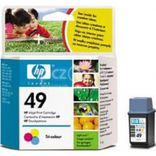 Cartus cerneala HP 49 Large Tri-colour Inkjet Print Cartridge 22.8 ml aprox. 310 pag 51649AE