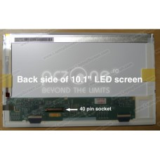 Display laptop Dell MINI 1018 10.1 inch Wide WSVGA (1024x576)  Glossy  LED