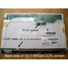Display laptop ASUS W5FM 12.1 inch Wide  WXGA (1280x800)  Matte  CCFL 1-lampa
