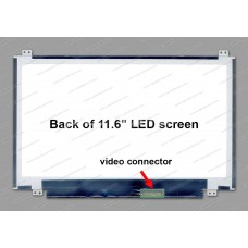 Display laptop Acer ASPIRE ONE 722-0871 11.6 inch Wide WXGA (1366x768) HD lucios LED