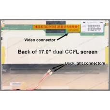 Display laptop Fujitsu FMV-BIBLO NX70JT 17 inch Wide WXGA+ (1440x900) Glossy CCFL 2-lampi