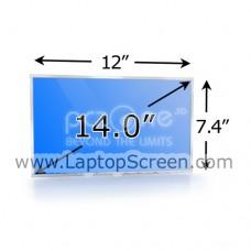 Display laptop ASUS W3 14.0 inch Wide WXGA (1280x768)  Glossy  CCFL 1-lampa