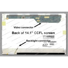 Display laptop Gateway T-1605M 14.1 inch WideScreen WXGA (1280x800) Glossy CCFL 1 lampa
