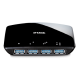 Hub USB 3.0 D-Link DUB-1340 4 Port